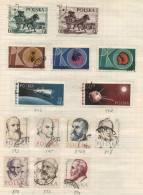 Polska -  14 Stamps - 14 Timbres - 14 Postzegels - Pologne