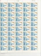 LYCEE HENRI IV  -  FEUILLE DE 50 TIMBRES A 4,50 - Feuilles Complètes
