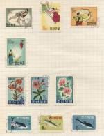 Taiwan - 10 Stamps - 10 Timbres - 10 Postzegels - Non Classés