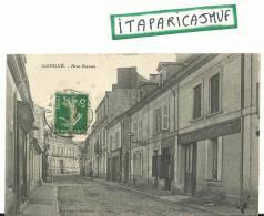 Maine Et Loire :  LONGUé  : Rue  Basse - France