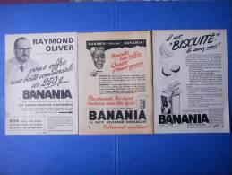 81)3  Publicites:raymond Oliver ,qualite D'avant Guerre,biscuite - Publicités