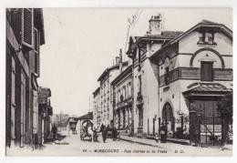 88  MIRECOURT   Rue Derise Et La Poste      éditions Delboy N°14 - Mirecourt