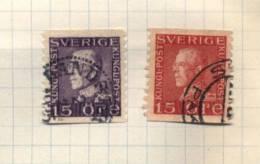 Sverige - 27 Stamps - 27 Timbres - 27 Postzegels - Suède