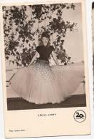 Carte Postale D'artiste / Movie Star Postcard - Cecile Aubry (#4998) - Attori