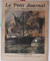 """Journaux, """"Le Petit Journal"""" Illustr� -  N� 1597 - 1er/08/1921 - Une catastrophe en mer - Frais de port : � 1.95"""