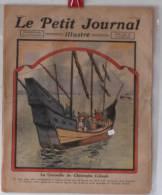 """Journaux, """"Le Petit Journal"""" Illustr� -  N� 1609 - 23/10/1921 - La caravelle de C. Colomb - Frais de port : � 1.95"""