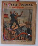 """Journaux, """"Le Petit Journal"""" Illustr� - N� 2025 - 13/10/1929, Une �trange lutte � 50 m de hauteur- Frais 1.95"""