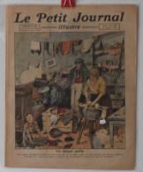 """Journaux, """"Le Petit Journal"""" Illustr� - N� 1610 - 30/10/1921 - Un danger public - Frais de port : � 1.95"""