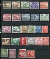 Germany 1943 Mi 831-842 850-863  MH (*) - Deutschland