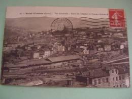 SAINT ETIENNE 42 GARE DU CLAPIER COTEAU SAINTE MAPS POSTKARTE CARTOLINA - Saint Etienne