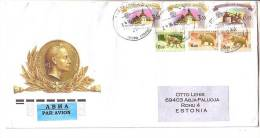GOOD RUSSIA Postal  Cover To ESTONIA 2012 - Good Stamped: Animals ; Kremlin - 1992-.... Fédération