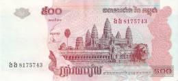 BILLETE DE CAMBOYA DE 500 RIELS DEL AÑO 2004 EN EBC+  (BANKNOTE) - Cambodia