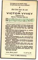 Doodsprentje Victor VYVEY - WESTKERKE 1864 - OUDENBURG 1936 - Devotion Images