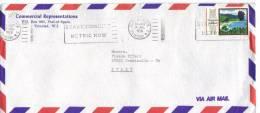 TZ1014 - BERMUDA , Lettera Commerciale Per L' Italia. 14/7/1978 - Trindad & Tobago (1962-...)