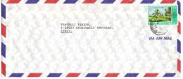 TZ1015 - BERMUDA , Lettera Commerciale Per L' Italia. - Trindad & Tobago (1962-...)