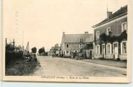LOUAILLES   -  Route De La Flèche. - France