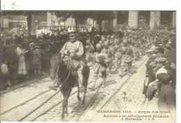 MARSEILLE...Campagne 1914..ARMEE Des INDES ....Arrivée D'un Détachement Indous à Marseille - Marseille