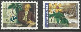 2001 Australia Sweden Joint Issue Set 2 Stamps Complete Mint Unhinged Gum On Rear - Nuovi