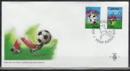 Mzl052fb SPORT WK VOETBAL SOCCER WORLD CHAMPIONSHIP FOOTBALL FUSSBALL WELTMEISTERSCHAFT ARUBA 1994 FDC - Sin Clasificación