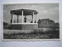 BIENNE-LEZ-HAPPART - La Place Et La Maison Communale - Lobbes