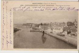 = Douarnenez Et L'Ile Tristan. Vue Prise Du Grand Pont. - Douarnenez