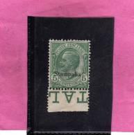 COLONIE ITALIANE EGEO 1912 STAMPALIA 5 CENTESIMI MNH BEN CENTRATO - Egeo (Stampalia)