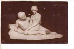 GOOD OLD NPG 1690 ART POSTCARD - St. Sinding - Idyll - Sculptures