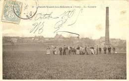 Carte Postale Ancienne De SAINT VAAST  LES SOLESMES - France