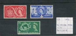 GB 1957 - Yv. 302/04 Postfris/neuf/MNH - 1952-.... (Elizabeth II)