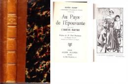 C1 Henry BARBY Au Pays De L Epouvante L ARMENIE MARTYRE 1917 EO Relie ILLUSTRE - 1901-1940