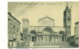 30/SAINT-GILLES, L'Eglise, Facade Occidentale - Saint-Gilles