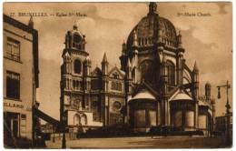 Brussel, Bruxelles, Eglise Ste Marie (pk5865) - Places, Squares