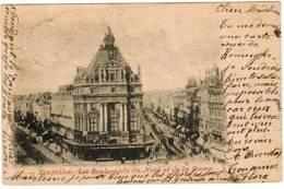 Brussel, Bruxelles, Les Boulevards Du Nord Et De La Senne (pk5868) - Places, Squares