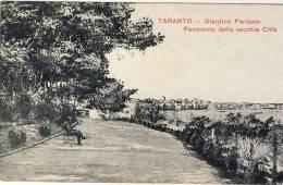 TARANTO - Giardino Peripato - Panorama Della Vecchia Città - Taranto