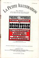 Maurice Rostand - La Déserteuse - La Petite Illustration N° 309 - Théâtre N° 173 - 13 Novembre 1926 - Bücher, Zeitschriften, Comics
