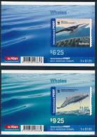 AUSTRALIA 2006, Antarctic Whales Set Of 2 Booklets** - Antarctic Wildlife