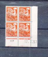 LOT  443 - FRANCE  :  PREOBLITERE N° 115 ** - Cote 60 € - 1953-1960