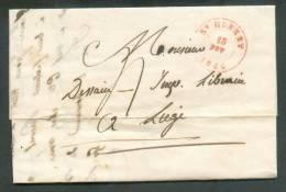 LAC De Saint-HUBERT Le 15 Février 1846 Vers Liège;   - 8127 - 1830-1849 (Belgique Indépendante)