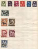 Kenia Tanganyaka Uganda - 12 Stamps - 12 Timbres - 12 Postzegels - Kenya, Uganda & Tanganyika