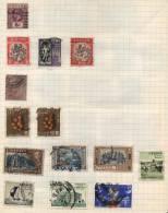 Ceylon -  15 Stamps - 15 Timbres - 15 Postzegels - Sri Lanka (Ceylan) (1948-...)