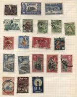 Ceylon -  20 Stamps - 20 Timbres - 20 Postzegels - Sri Lanka (Ceylan) (1948-...)