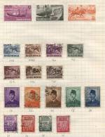 Republic Of Indonesia -  19 Stamps - 19 Timbres - 19 Postzegels - Indonesië