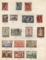 Greece -  17 Stamps - 17 Timbres - 17 Postzegels - Grèce
