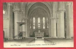 CPA N°22345 / SOULLANS - INTERIEUR DE L´ EGLISE - Soullans