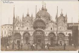 = Venise. Place St Marc. Carte Photo. - Venezia (Venice)