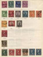 United States Of America - 21 Stamps - 21 Timbres - 21 Postzegels - Etats-Unis