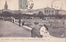 ROYAN La Plage Vers L'église - Royan