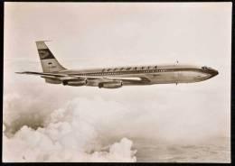 LUFTHANSA (OLD LOGO) BOEING 707 SEE 2 SCANS - 1946-....: Moderne