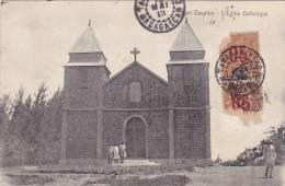 Madagascar Fort Dauphin L'Eglise Catholique 1905
