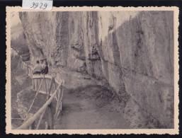 Champéry (au-dessus De –) : La Galerie Défago En 1944 ; Taille Cpa 8,5 / 11,5 - Losanges Au Verso (9929) - VS Wallis